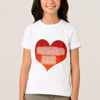 Camiseta A sobrinha do sapador-bombeiro