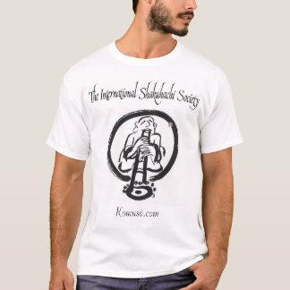 Camiseta A sociedade internacional de Shakuhachi