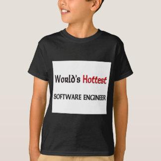Camiseta A Software Engineer a mais quente dos mundos