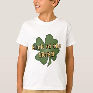 Camiseta A sorte do irlandês caçoa o t-shirt
