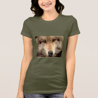 Camiseta A suposição que os animais são sem direitos e