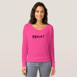 Camiseta A T-Camisa da resistência cor-de-rosa ou escolhe a