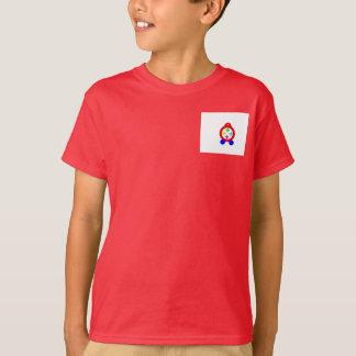 Camiseta A T-Camisa das crianças projetadas