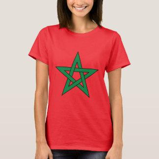 Camiseta A T-Camisa das mulheres de Marrocos