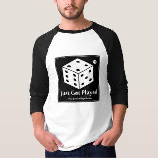 Camiseta A T-Camisa oficial de www.JustGotPlayed.com