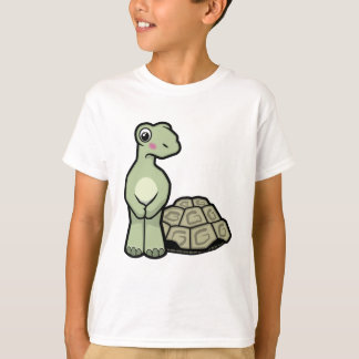 Camiseta A tartaruga engraçada de SHELL-menos caçoa o