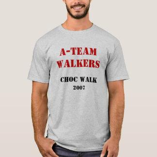 Camiseta A-TeamWalkers, caminhada de CHOC, 2007