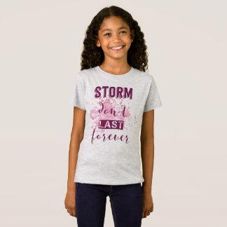Camiseta A tempestade de inspiração não dura para sempre a
