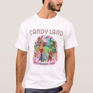 Camiseta A terra dos doces estabeleceu 1945