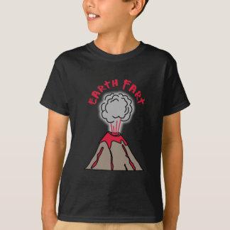 Camiseta A terra Fart vulcão
