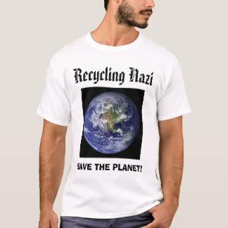 Camiseta a terra, reciclagem, SALVAR O PLANETA!