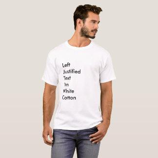 Camiseta A tipografia é assim que esfrie