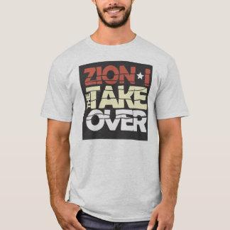 Camiseta A tomada sobre o T