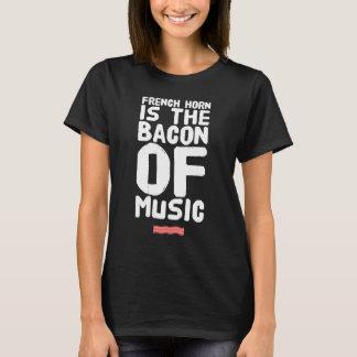 Camiseta A trompa francesa é o bacon da música