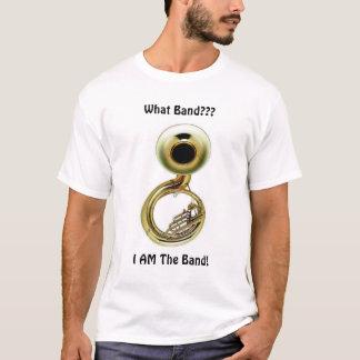 Camiseta A tuba é a banda