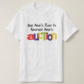 Camiseta A uma sucata do homem é o leilão de um outro homem