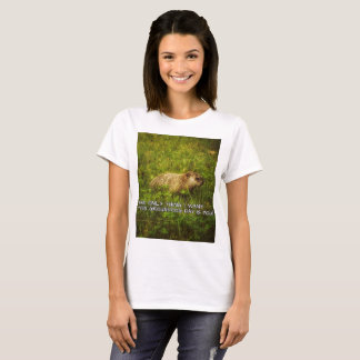 Camiseta A única coisa eu quero este t-shirt do dia de