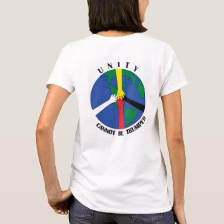 Camiseta A unidade não pode Trumped - Tshirt