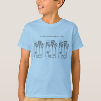Camiseta A vara estimada do Lacrosse