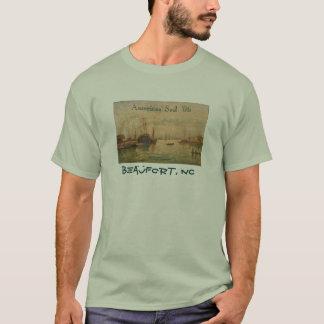 Camiseta A vela de Americas Beaufort 2006 NC - (traseiro)