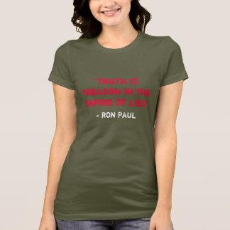 Camiseta A verdade é traição no império das mentiras