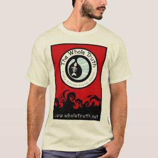 Camiseta A verdade inteira - design vermelho