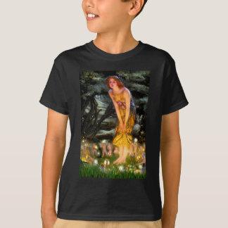 Camiseta A véspera de plenos Verões - adicione um animal de