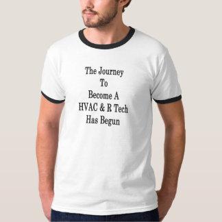 Camiseta A viagem a transformar-se uma tecnologia da ATAC R
