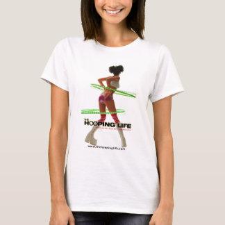 Camiseta A vida de Hooping - espaguete do poster