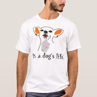 Camiseta A vida do cão