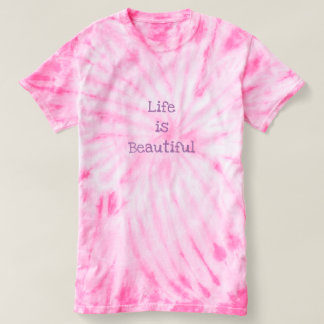 Camiseta A vida é bonita