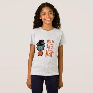 Camiseta A vida é bruxa assustador da melhor coruja do