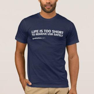 Camiseta A vida é demasiado curta…