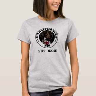 Camiseta A vida é melhor com um GSP personalizada