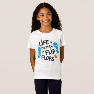 Camiseta A vida é melhor nos chinelos