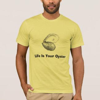 Camiseta A vida é sua ostra