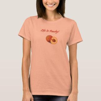 Camiseta A vida é t-shirt Peachy