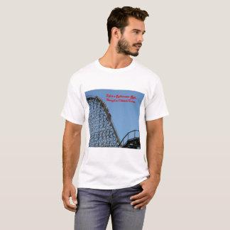 Camiseta A vida é um passeio do roller coaster…