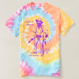 Camiseta A vida é uma edição carregada Get do nómada de