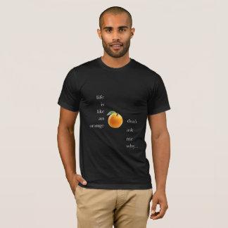 Camiseta A vida é uma laranja