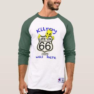 Camiseta A vida em 66 Kilroy estava aqui