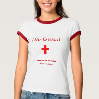 Camiseta A vida Guard~mine anda na água