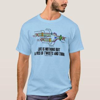 Camiseta A vida não é nada mas uma série de torções e de