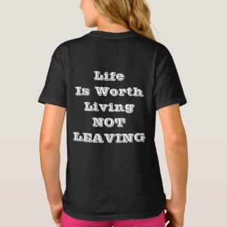 Camiseta A vida vale a vida que NÃO DEIXA o t-shirt