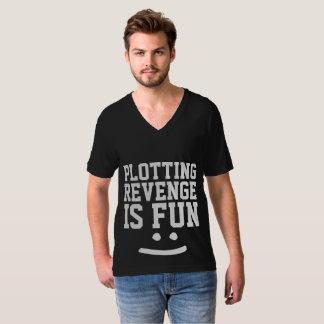 Camiseta A VINGANÇA do TRAÇO É t-shirt do DIVERTIMENTO,