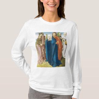 Camiseta A Virgem Maria com St John o evangelista
