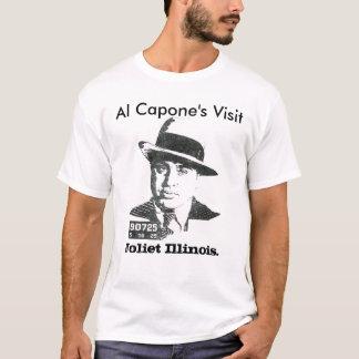 Camiseta A visita de Al Capone, Joliet Illinois.