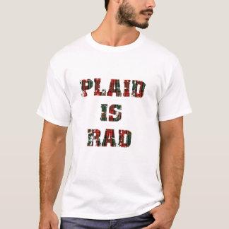 Camiseta A xadrez é Rad