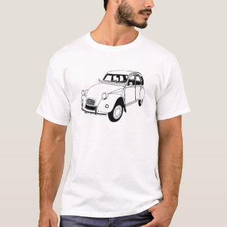 Camiseta A zorra de Citroen 2CV inspirou o t-shirt
