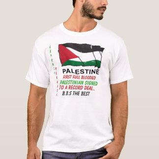 Camiseta aaa, primeiro Blooded completo, palestino